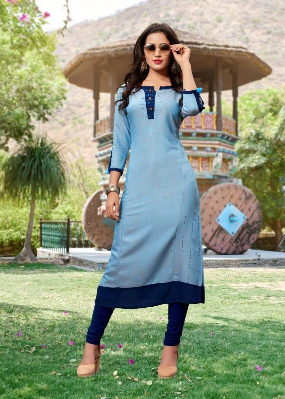 saree-exotica-powder-blue-hand-work-fancy-kurti-726101-5342BK1005