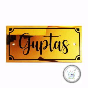 Guptas Titanium engraved name plates 300x300