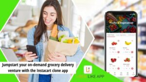 instacart Jumpstart your on demand grocery delivery venture with the Instacart clone app 1 1 300x169